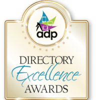 The ADP Directory Excellence Awards logo